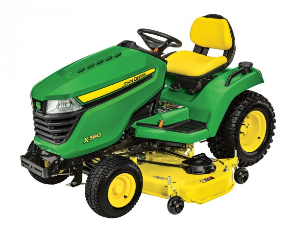 John Deere X580 Ride-On Lawnmower