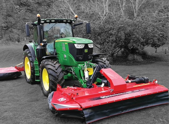 Front Mounted Hay Mower