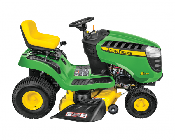 John Deere E100 Ride-on Mower