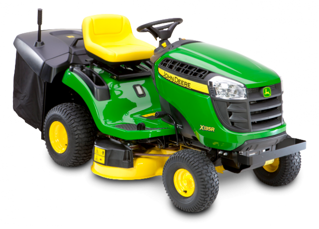 John Deere X135R Ride-On Lawnmower Rear Catching