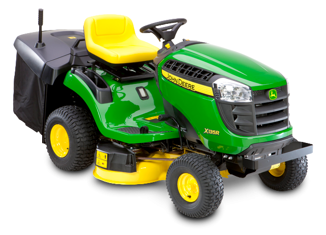john deere x135r ride on lawnmower. Black Bedroom Furniture Sets. Home Design Ideas