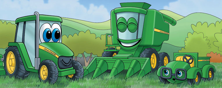 Johnny Tractor Coloring Pages - Coloring Home | 302x764