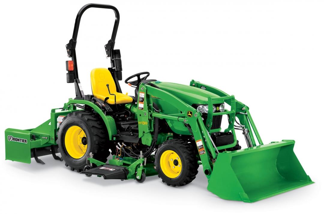 John Deere Compact Tractor Attachments : John deere r compact utility tractor